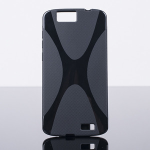 BACK CASE COVER X-LINE GEL TPU HUAWEI ASCEND G7 BLACK