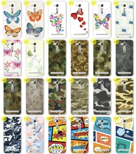 Back Case 0.3mm Kreatui COVER ArtCase ASUS ZENFONE GO ZB500KG + GLASS