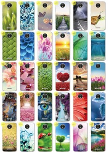 Back Case 0.3mm Kreatui COVER PhotoCase MOTOROLA MOTO C PLUS +GLASS 9H