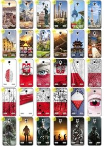Back Case 0.3mm Kreatui COVER PhotoCase ZTE BLADE A520 + GLASS 9H