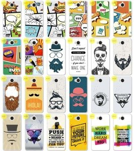 Back Case 0.3mm Kreatui PRINT COVER ArtCase HUAWEI Y6 2017 + GLASS 9H