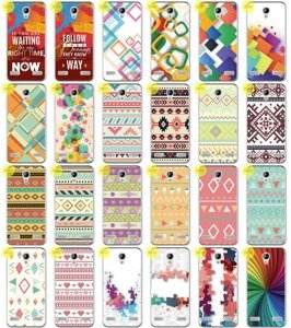 Back Case 0.3mm Kreatui PRINT COVER ArtCase ZTE BLADE A520 + GLASS 9H