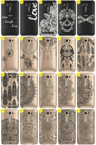 Back Case Cover Kreatui LaceCase ASUS ZENFONE 2 LASER 5.5 ZE550 +GLASS