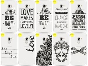Back Case Cover Kreatui LaceCase LENOVO K4 NOTE A7010 + GLASS 9H