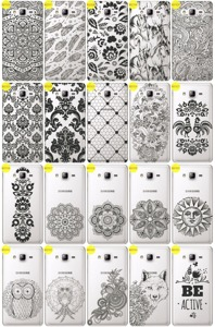 Back Case Cover Kreatui LaceCase SAMSUNG GALAXY ON7 SM-G600 + GLASS 9H