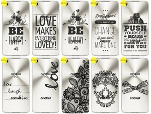 Back Case Cover Overprint Kreatui LaceCase ALCATEL IDOL 4