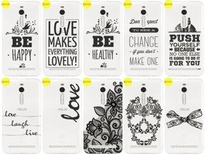 Back Case Cover Overprint Kreatui LaceCase ASUS ZENFONE 2 5.5