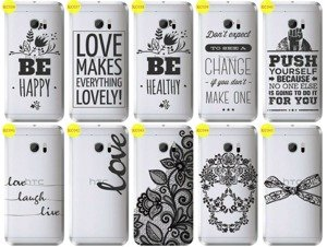 Back Case Cover Overprint Kreatui LaceCase HTC 10 LIFESTYLE
