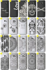 Back Case Cover Overprint Kreatui LaceCase HTC 10 LIFESTYLE + GLASS 9H