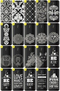 Back Case Cover Overprint Kreatui LaceCase HTC DESIRE 210
