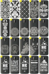 Back Case Cover Overprint Kreatui LaceCase HTC DESIRE 326 + GLASS 9H