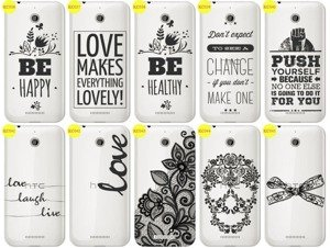 Back Case Cover Overprint Kreatui LaceCase HTC DESIRE 510