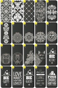 Back Case Cover Overprint Kreatui LaceCase HTC DESIRE 830