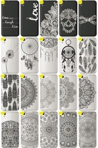 Back Case Cover Overprint Kreatui LaceCase HTC DESIRE 830 + GLASS 9H
