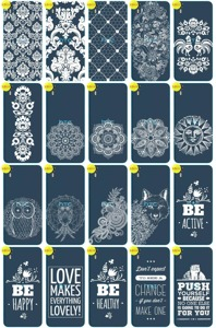 Back Case Cover Overprint Kreatui LaceCase HTC DESIRE EYE + GLASS 9H