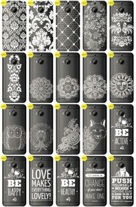 Back Case Cover Overprint Kreatui LaceCase HTC ONE M9+