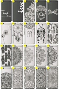 Back Case Cover Overprint Kreatui LaceCase HTC ONE X9