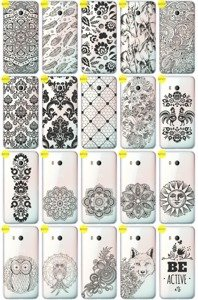 Back Case Cover Overprint Kreatui LaceCase HTC U11 / U 11 + GLASS 9H
