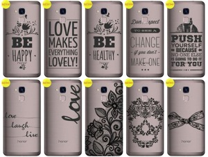Back Case Cover Overprint Kreatui LaceCase HUAWEI HONOR 7 LITE
