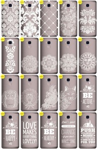 Back Case Cover Overprint Kreatui LaceCase HUAWEI HONOR 7 LITE + GLASS