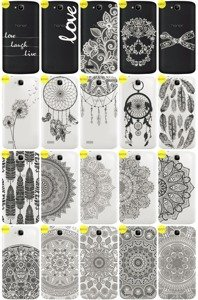 Back Case Cover Overprint Kreatui LaceCase HUAWEI HONOR HOLLY