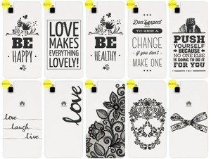 Back Case Cover Overprint Kreatui LaceCase HUAWEI SHOTX