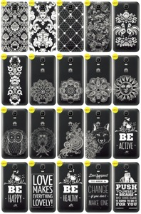 Back Case Cover Overprint Kreatui LaceCase HUAWEI Y3 + GLASS 9H