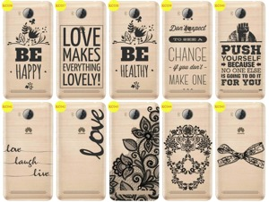 Back Case Cover Overprint Kreatui LaceCase HUAWEI Y3 II 2 + GLASS 9H