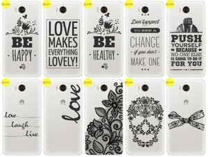 Back Case Cover Overprint Kreatui LaceCase HUAWEI Y6 2017 + GLASS 9H