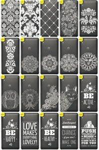 Back Case Cover Overprint Kreatui LaceCase HUAWEI Y6 II 2 + GLASS 9H