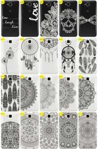 Back Case Cover Overprint Kreatui LaceCase HUAWEI Y6 PRO + GLASS 9H