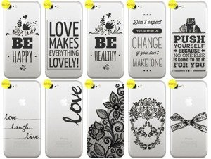 Back Case Cover Overprint Kreatui LaceCase IPHONE 7
