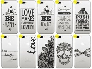 Back Case Cover Overprint Kreatui LaceCase IPHONE 7 PLUS