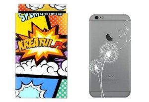 Back Case Cover Overprint Kreatui LaceCase LENOVO A536