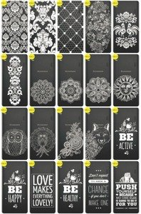 Back Case Cover Overprint Kreatui LaceCase LENOVO A700