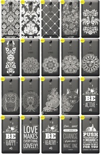 Back Case Cover Overprint Kreatui LaceCase LENOVO K5 NOTE + GLASS 9H