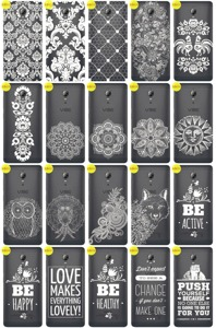 Back Case Cover Overprint Kreatui LaceCase LENOVO P1 + GLASS 9H