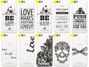 Back Case Cover Overprint Kreatui LaceCase LENOVO VIBE C