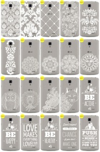 Back Case Cover Overprint Kreatui LaceCase LG F70