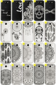 Back Case Cover Overprint Kreatui LaceCase LG K3 + GLASS 9H