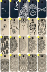 Back Case Cover Overprint Kreatui LaceCase LG K3 K100 LTE + GLASS 9H