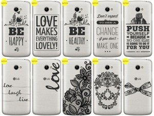 Back Case Cover Overprint Kreatui LaceCase LG K5