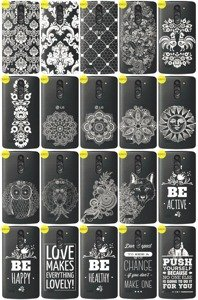 Back Case Cover Overprint Kreatui LaceCase LG L BELLO D331 / L80+