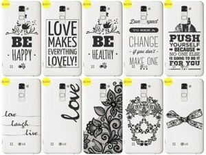 Back Case Cover Overprint Kreatui LaceCase LG STYLUS 2