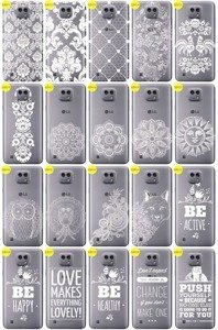 Back Case Cover Overprint Kreatui LaceCase LG X CAM