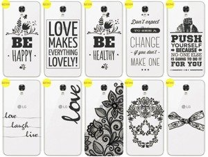 Back Case Cover Overprint Kreatui LaceCase LG X SCREEN