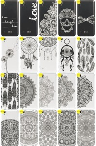 Back Case Cover Overprint Kreatui LaceCase LG X STYLE