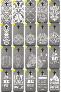 Back Case Cover Overprint Kreatui LaceCase MEIZU MX5 / MX 5