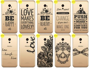 Back Case Cover Overprint Kreatui LaceCase MEIZU PRO 6 + GLASS 9H