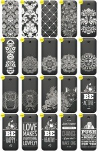 Back Case Cover Overprint Kreatui LaceCase NOKIA 225